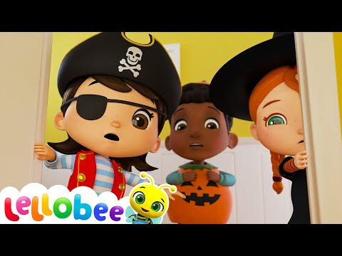 The Spooky Monster Song - Halloween | Nursery Rhymes & Kids Songs - ABCs and 123s | Little Baby Bum