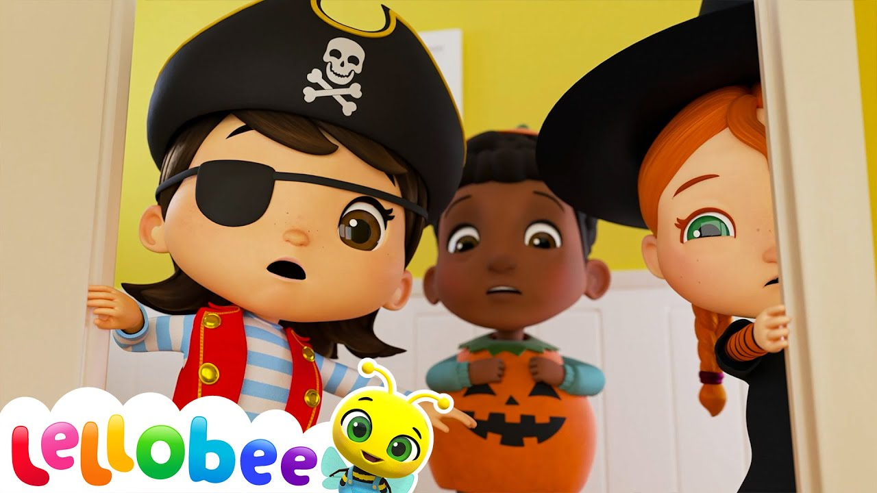The Spooky Monster Song - Halloween   Nursery Rhymes & Kids Songs - ABCs and 123s   Little Baby Bum