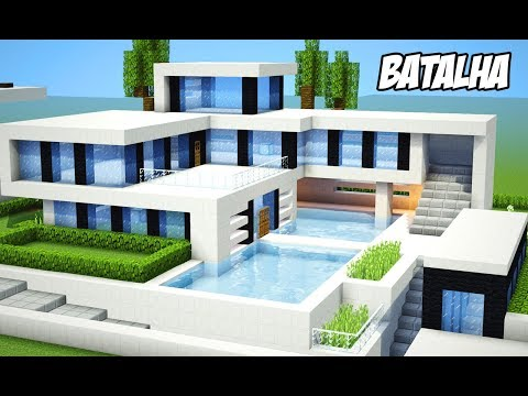 Minecraft casas for Casa moderna 4x4
