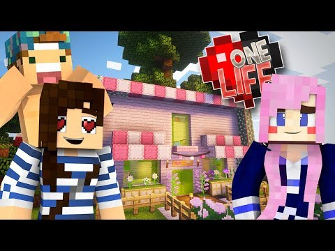 Building A Cat Cafe With Lizzie & Joey 💔 Minecraft One Life SMP (Ep.11)