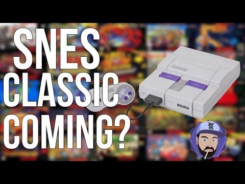 SNES Classic Mini Coming in 2017?! | RGT 85