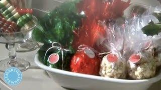 Making Popcorn Balls - Martha Stewart