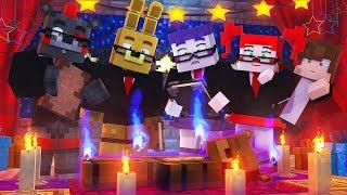Minecraft FNAF 6 Pizzeria Simulator - ROCKSTAR FREDDY RITUAL!  (Minecraft Roleplay)