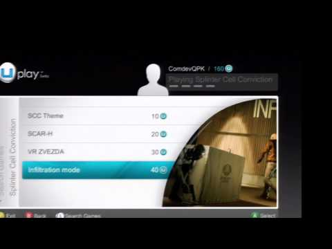 Splinter Cell  Conviction Com Dev Uplay Rewards Trailer