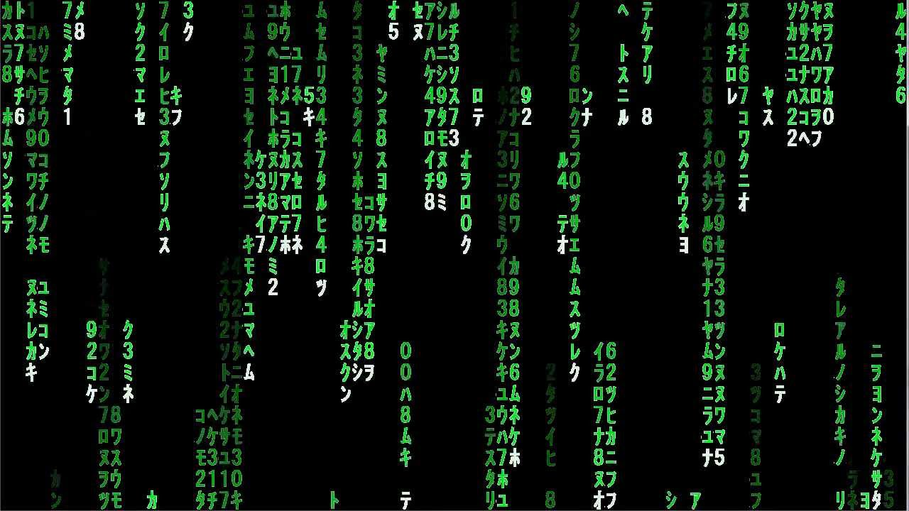 Matrix Falling Code Wallpaper Download Matrix Raining Code Youtube