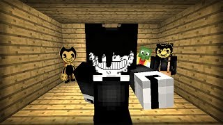 ¡ESCONDITE DE BENDY EN MINECRAFT! LAS ESCONDIDAS TERRORÍFICAS