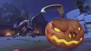 Overwatch New Skin & Highlight intro in Halloween Terror 2016