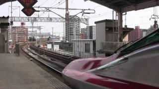 はやぶさ101号 盛岡行 仙台駅発車(旧発メロ)