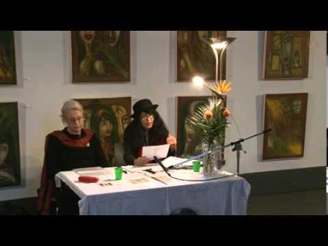 Poetry and Art by Shahla Aghapour-Kunst, Lesung(Deutsch-Persisch)am 22.2.2013 آقاپور
