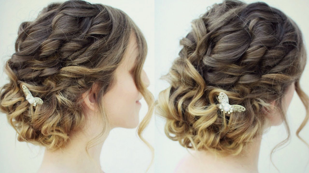 Curly Messy Updo | Prom Hairstyles | Braidsandstyles12 ...