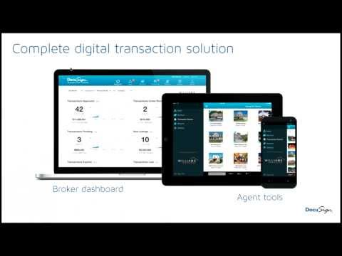 RE Technology.com: Brokers - Accelerate Your Business with DocuSign for Real Estate