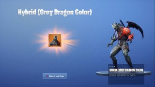 Hybrid (Grey Dragon Color) Récompense Unlock à Fortnite!