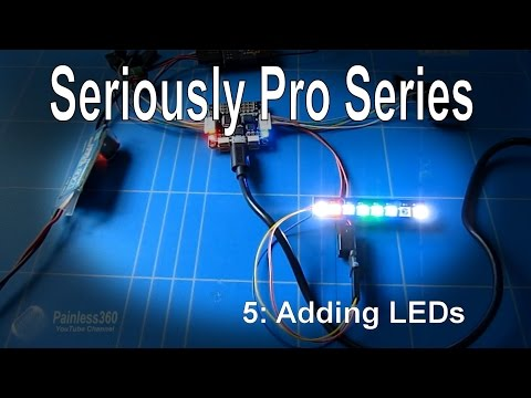 (5/9) Seriously Pro F3 (SP3) Series - Installing WS2812/2811 LEDs