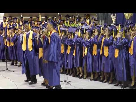 Roar and Today my life Begins Class of 2013 Graduation Anguilla
