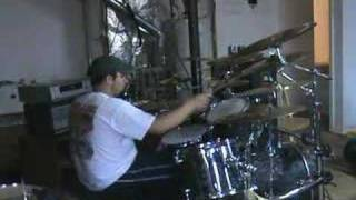 staind right here drum cover