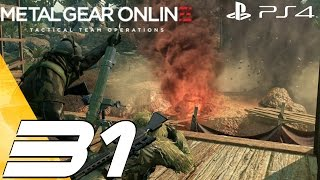 Metal Gear Online 3 - Multiplayer Online Gameplay Session Part 31 - Patch 1.10 & Rusty [1080p 60fps]