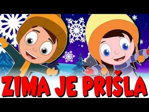 Zima je prišla | Otroške božične pesmi | Božični mix