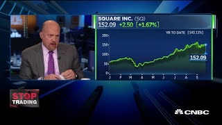 Jim Cramer: 'Square is the stock to watch.'