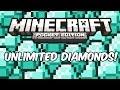 INFINITE DIAMONDS! - Minecraft: Pocket Edition Cheat/Glitch/Hack