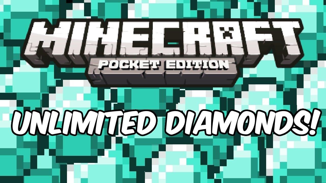 db116293a3ff INFINITE DIAMONDS! - Minecraft  Pocket Edition Cheat Glitch Hack ...