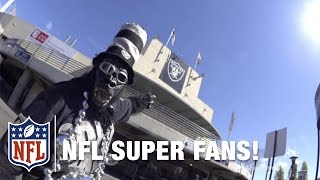 Oakland Raiders Superfan | Who Is Gorilla Rilla? | NFL
