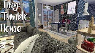 The Sims 4: Speed Build Tiny Tumblr House