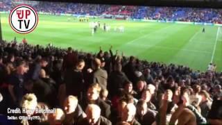 man united players applaud amazing away fans at selhurst park   crystal palace 1 2 man utd