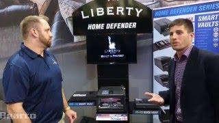 Liberty HDX-250 Smart Vault Handgun Safe