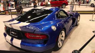 SRT Viper GTS Launch Edition 2013 Videos