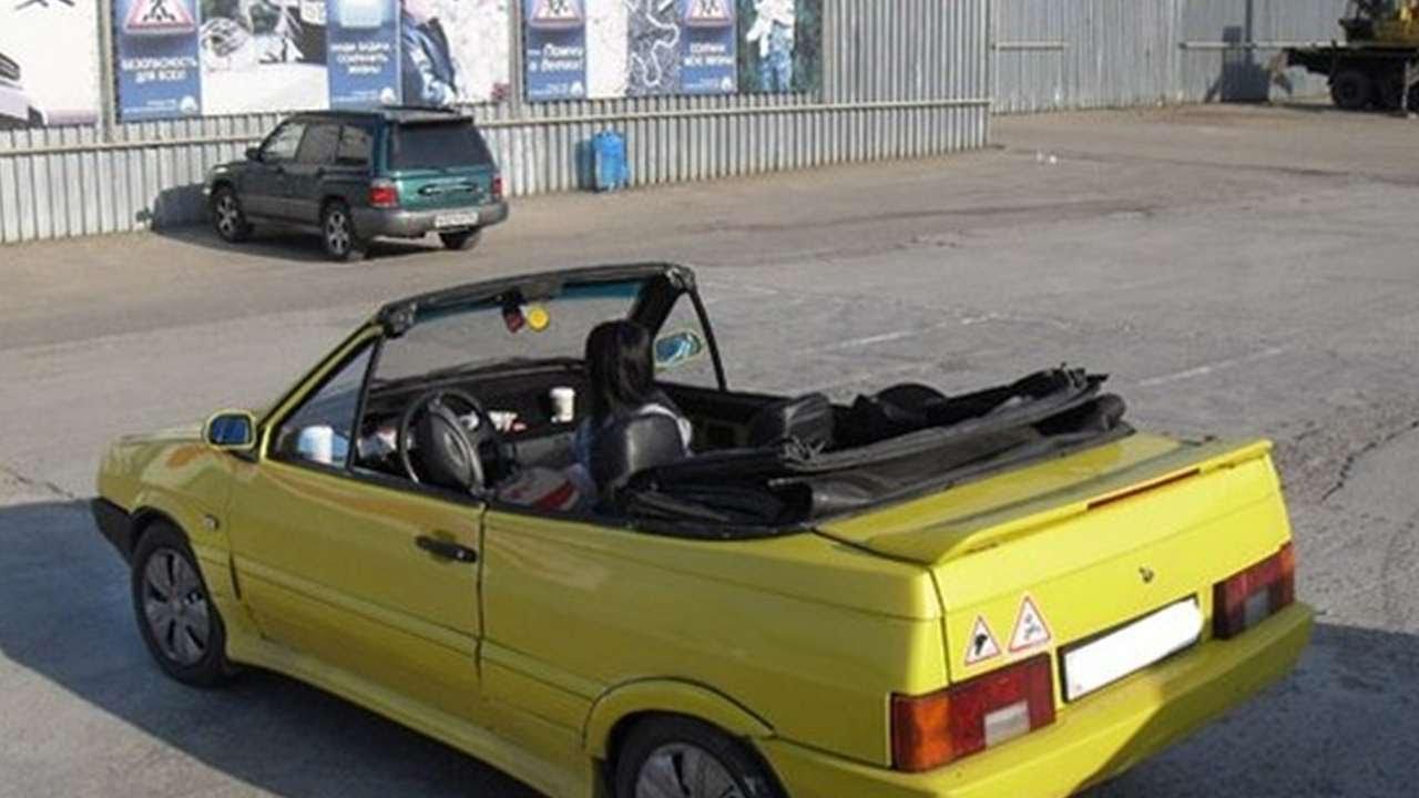 Точка Zрения   А вам слабо? Mazda 2108 или Лада RX 8