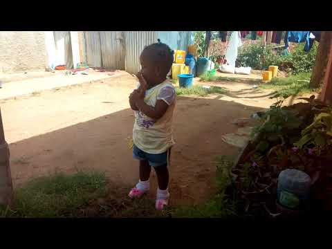 She is singing song happy birthday in Amharic