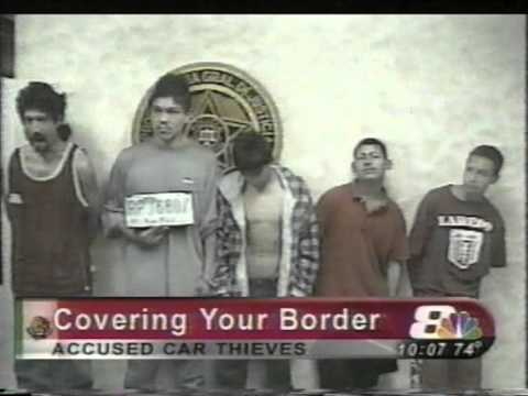 Classic Segment Of Pro 8 News, Aired 3/12/2003, Laredo, Texas