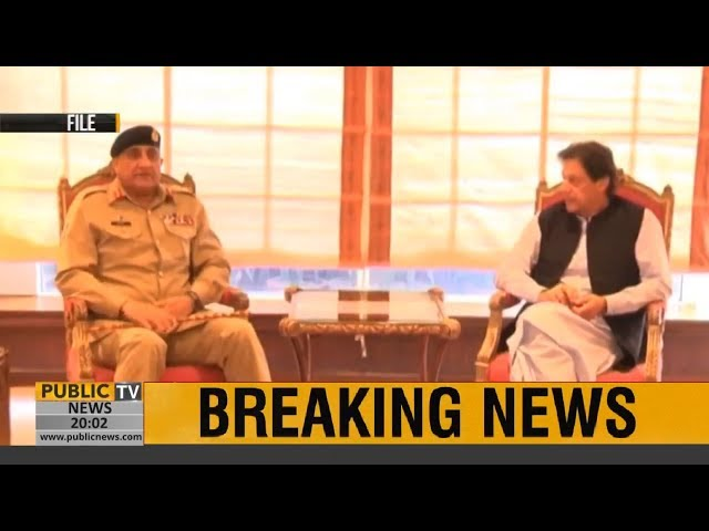 Army Chief Qamar Javed Bajwa meets PM Imran Khan