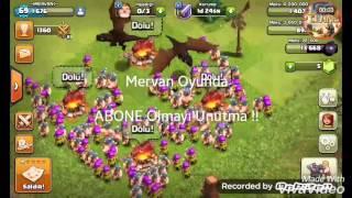 Clash Of Clans - Barbar Okçu Saldırısı #1