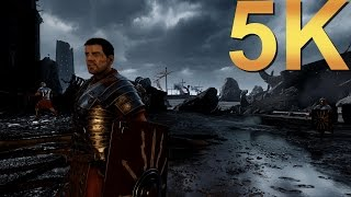 Ryse Son of Rome 5K+ Ultra Settings Gameplay High Resolution PC Gaming 4K | 5K | 8K and Beyond