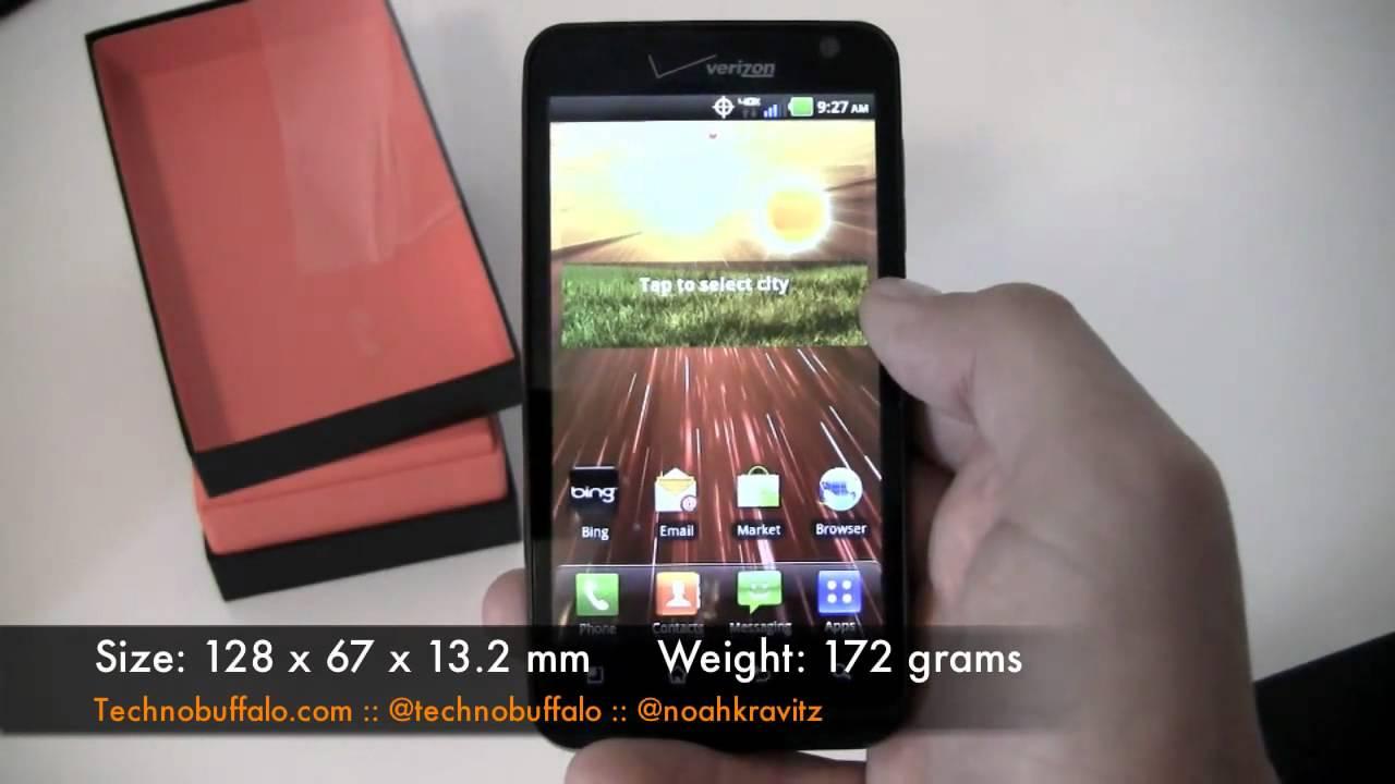 Verizon LG Revolution Unboxing - YouTube