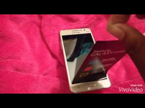 Samsung Galaxy Grand Prime (Gold) Quick Unboxing