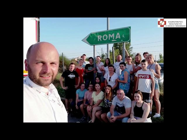 Pielgrzymka Młodych Niesłyszących do Rzymu 5-11.08.2019r.