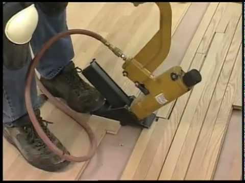 Installing A Hardwood Floor Youtube