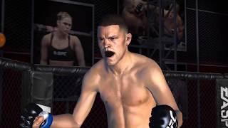 UFC mobile Nate Diaz Lightweight career mode Stage 199 - 201