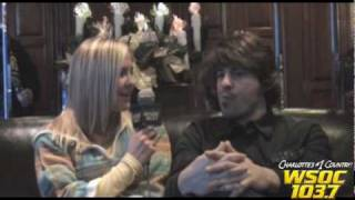 103.7 WSOC: Pinkie Interviews Jimmy Wayne on the Redneck Yacht Club!