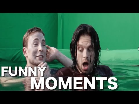 Captain America: Civil War Cast (FUNNY MOMENTS)