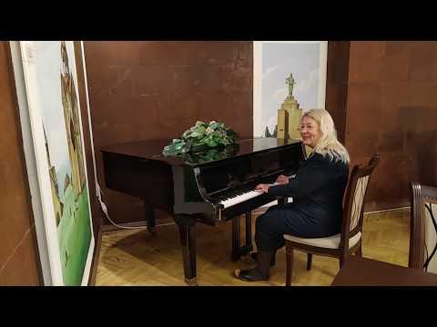 Ani Plaza Hotel, 4*. Ремейк на поп. муз. Арно Бабаджаняна исп.Елена Леменкова.