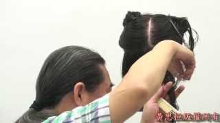 黃思恒編製數位美髮影片-短髮低層次髮型12-4