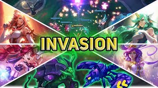 INVASION MODE IS ACTUALLY REALLY FUN! (How to beat Normal + Onslaught Modes) - PBE