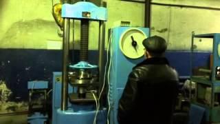 Випробувальний прес П-50 (50тн/500кН) Калібрування.