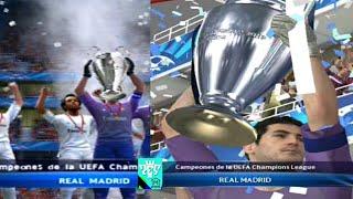 PES 2014 (PS2) VS PES 2014 (PS3) | FINAL UEFA CHAMPIONS LEAGUE COMPARISON | FINAL UCL