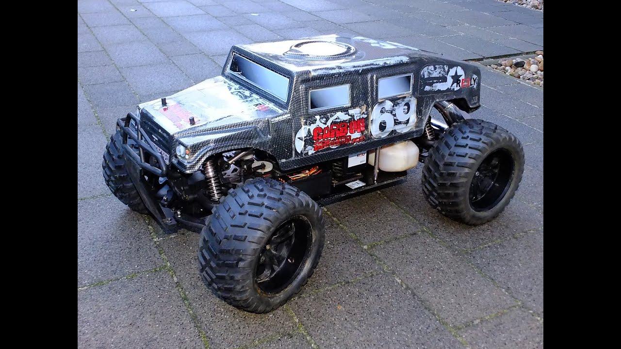 rc verbrenner monster truck benziner 1 5 reely carbon. Black Bedroom Furniture Sets. Home Design Ideas