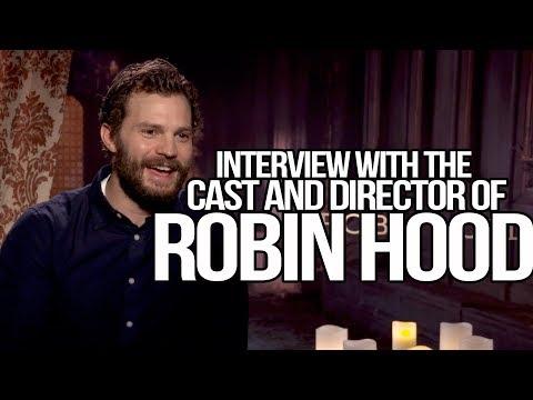 """Robin Hood"" Interview With Ben Mendelsohn, Jamie Dornan and Otto Bathurst"