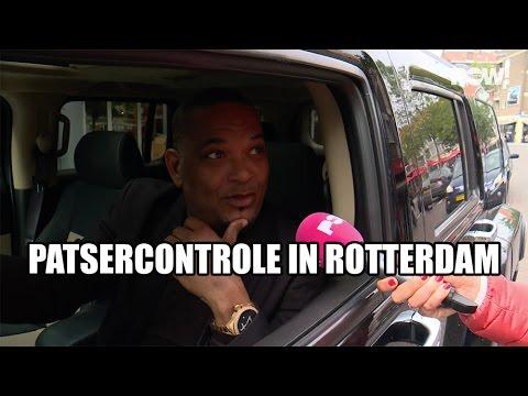 Op patsercontrole in Rotterdam